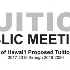 Tuition public meetings