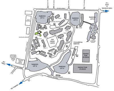 Kapiolani Community College Map Compressportnederland