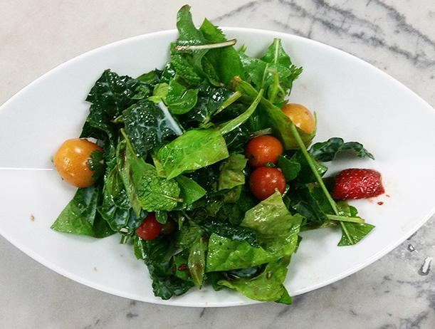 Salad. Photo: N. K. Sadowski