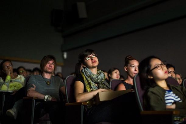 """KCC students at the """"Selma"""" showing"""