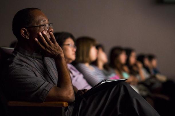 """Dr. Richards Watching """"Selma"""""""