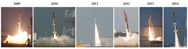 rocksat launches 611